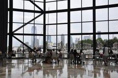 De Stad van New York, 2 Juli: Het binnenland van de Brookfieldplaats in Manhattan van de Stad van New York in Verenigde Staten Royalty-vrije Stock Afbeelding