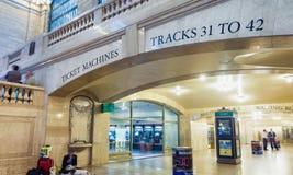 DE STAD VAN NEW YORK - 10 JUNI, 2013: Architectuur van Grand Central -MAI Royalty-vrije Stock Fotografie