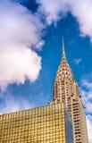 DE STAD VAN NEW YORK - JUNI 2013: De Chrysler-bouw was de wereld Royalty-vrije Stock Foto's