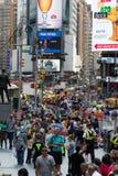De Stad van New York 4 keer vierkant Stock Afbeeldingen