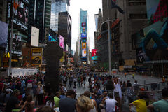 De Stad van New York 4 keer vierkant Royalty-vrije Stock Foto