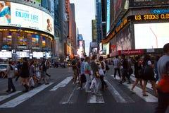 De Stad van New York 4 keer vierkant Royalty-vrije Stock Fotografie