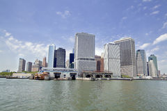 De Stad van New York - Lower Manhattan Stock Foto