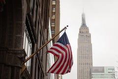 De stad van New York, Manhattan stock afbeeldingen
