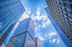 De Stad van New York - Manhattan Stock Fotografie