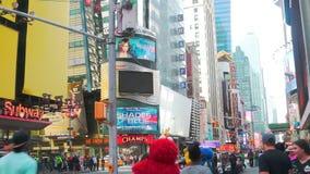 De STAD van NEW YORK, NY kan 10 2016 stock videobeelden