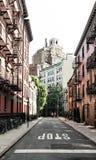 De Stad van New York, NY, de V.S. 05 29 2016 Vrolijke Straat in het Dorp van Greenwich Royalty-vrije Stock Afbeelding