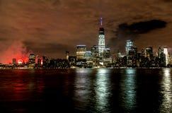 De Stad van New York op 4 van 201 Juli Stock Afbeeldingen