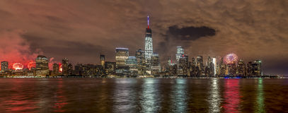 De Stad van New York op 4 van 201 Juli Royalty-vrije Stock Afbeelding