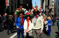 De Stad van New York: 2016 Pasen-Parade Stock Foto's
