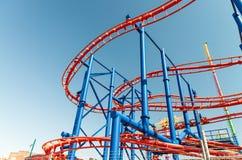 DE STAD VAN NEW YORK - SEPTEMBER 2015: Het pretpark van Luna Park bij stock afbeelding