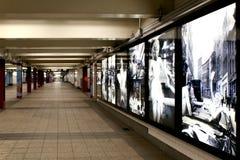 DE STAD VAN NEW YORK - 01 SEPTEMBER: Metrowagen op 01 September, 2013 Stock Foto
