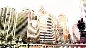 De Stad van New York Streetart Niceday Unabdingbar Stock Afbeeldingen