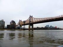 De Stad van New York van de Brug van Queensboro Royalty-vrije Stock Foto's