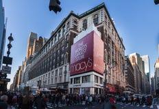 De Stad van New York van de Macysopslag Stock Foto