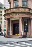De Stad van New York van Delmonico Royalty-vrije Stock Foto's