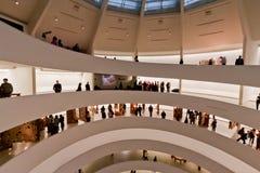 De Stad van New York van het Museum van Guggenheim van Solomon Stock Foto