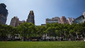 De Stad van New York van het Park van Bryant Stock Afbeeldingen