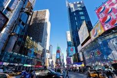 De Stad van New York van het Times Square Stock Foto
