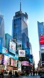 De Stad van New York van het Times Square Stock Afbeeldingen