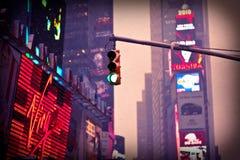 De Stad van New York van het Times Square Stock Foto's