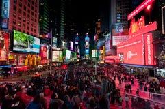 De Stad van New York van het Times Square Royalty-vrije Stock Foto