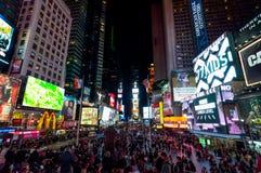 De Stad van New York van het Times Square Stock Fotografie