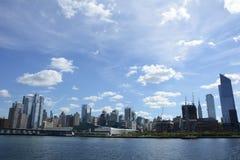 De Stad van New York - Verenigde Staten van Amecica stock foto's