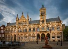 De stad van Northampton, Engeland, het UK Stock Foto's