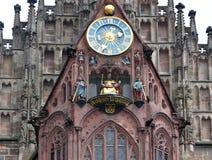 De stad van Nuremberg in Duitsland Stock Afbeelding