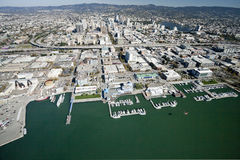 De stad van Oakland stock afbeelding