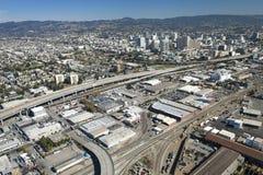 De stad van Oakland royalty-vrije stock foto's