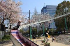 De stad van Osaka, Japan Royalty-vrije Stock Foto's