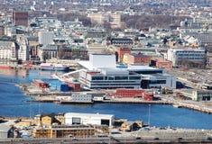 De Stad van Oslo Royalty-vrije Stock Afbeeldingen