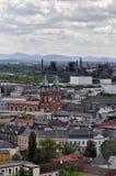 De stad van Ostrava Stock Fotografie