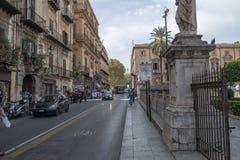 De stad van Palermo, Sicilië royalty-vrije stock afbeelding