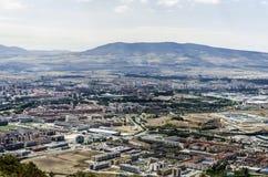 De stad van Pamplona Stock Foto