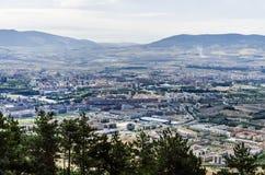 De stad van Pamplona Stock Afbeelding