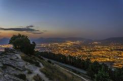 De stad van Pamplona Stock Fotografie