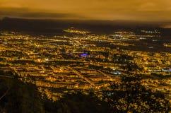 De stad van Pamplona Stock Foto's