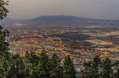 De stad van Pamplona Royalty-vrije Stock Afbeeldingen