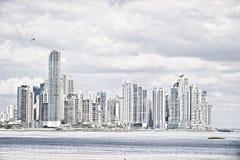 De stad van Panama Stock Afbeeldingen