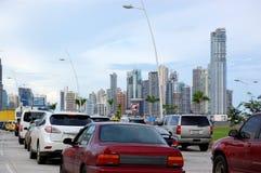 De Stad van Panama Royalty-vrije Stock Foto