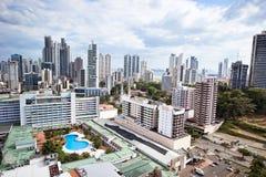 De Stad van Panama Stock Foto