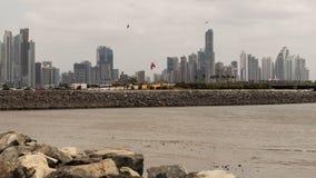 De Stad van Panama Royalty-vrije Stock Afbeeldingen