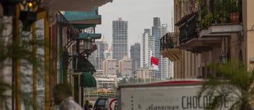 De Stad van Panama Stock Fotografie