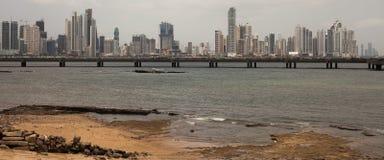 De Stad van Panama Royalty-vrije Stock Afbeelding
