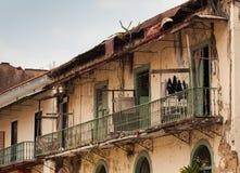 De Stad van Panama - Casco Viejo, Panama Stock Afbeeldingen