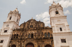 De Stad van Panama - Casco Viejo, Panama Royalty-vrije Stock Afbeeldingen