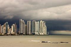 De Stad van Panama stock foto's